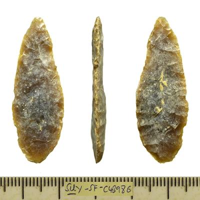 prehistoric flint