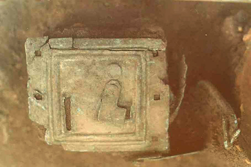 close up of money box
