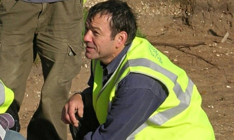 Photograph of Colin talking