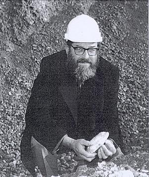 Photograph of John Wymer