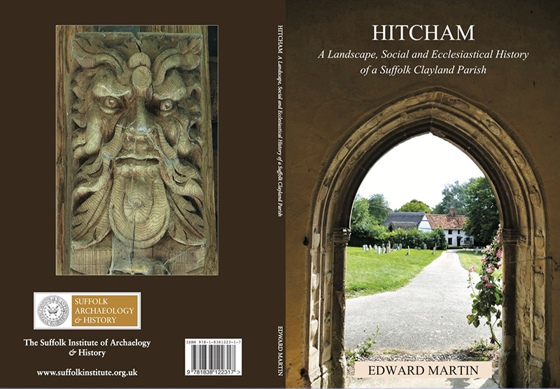 book cover showing church archway