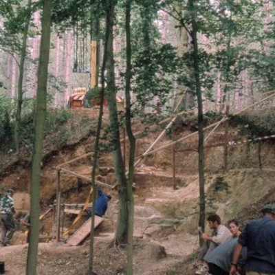 Open excavation taken place at Beeches Pit
