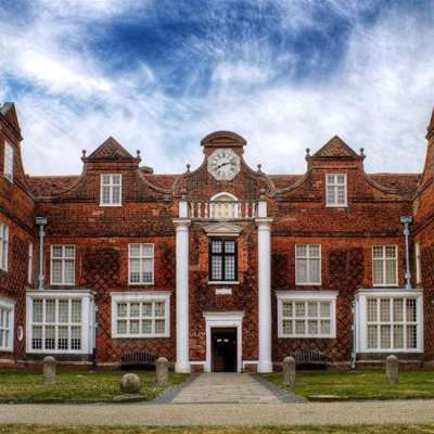 Exterior view of Christchurch Mansion