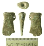 Image of miniature socketed axe